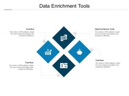 Data Enrichment Tools Ppt Powerpoint Presentation Inspiration Graphic Tips Cpb