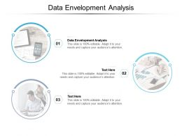 Data Envelopment Analysis Ppt Powerpoint Presentation Summary Elements Cpb