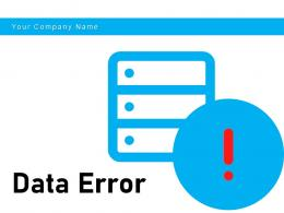 Data Error Recognition Symbol Connectivity Migration Scanning