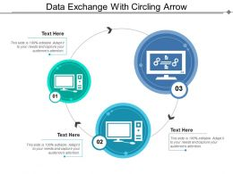 Data Exchange With Circling Arrow