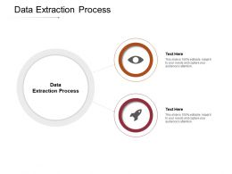 Data Extraction Process Ppt Powerpoint Presentation Summary Introduction Cpb