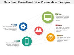 Data Feed Powerpoint Slide Presentation Examples