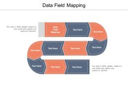 Data Field Mapping Ppt Powerpoint Presentation Visual Aids Summary Cpb