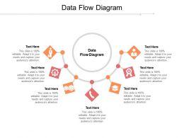 Data Flow Diagram Ppt Powerpoint Presentation Slides Gridlines Cpb