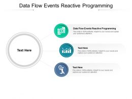 Data Flow Events Reactive Programming Ppt Powerpoint Presentation Icon Introduction Cpb