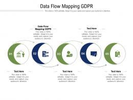 Data Flow Mapping GDPR Ppt Powerpoint Presentation Slides Design Inspiration Cpb