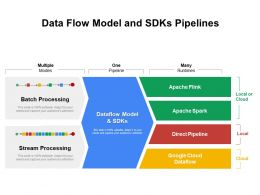 Data Flow Model And SDKs Pipelines