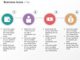 Data Folder Business Man Dollar Money Bag Ppt Icons Graphics