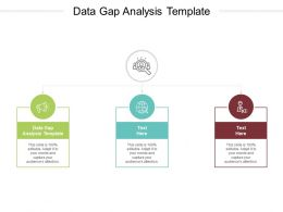 Data Gap Analysis Template Ppt Powerpoint Presentation Portfolio Inspiration Cpb