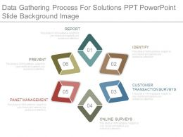 Data Gathering Process For Solutions Ppt Powerpoint Slide Background Image