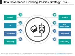 Data Governance Covering Policies Strategy Risk Management Regulatory