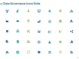 Data Governance Icons Slide Marketing Ppt Powerpoint Presentation Gallery Layouts