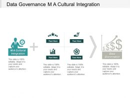 Data Governance M A Cultural Integration Marketing Costing Cpb