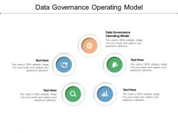 Data Governance Operating Model Ppt Powerpoint Presentation Outline Influencers Cpb