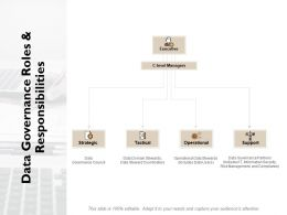 Data Governance Roles And Responsibilities Ppt Powerpoint Presentation File Objects