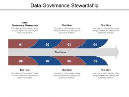 Data Governance Stewardship Ppt Powerpoint Presentation Model Summary Cpb