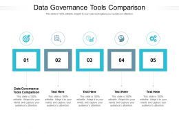 Data Governance Tools Comparison Ppt Powerpoint Presentation Show Outfit