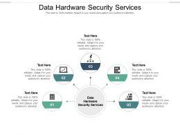 Data Hardware Security Services Ppt Powerpoint Presentation Portfolio Files Cpb