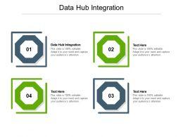Data Hub Integration Ppt Powerpoint Presentation Icon Aids Cpb