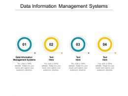 Data Information Management Systems Ppt Powerpoint Presentation Gallery Shapes Cpb