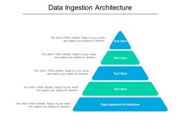 Data Ingestion Architecture Ppt Powerpoint Presentation Inspiration Files Cpb