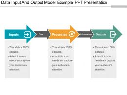 Data Input And Output Model Example Ppt Presentation
