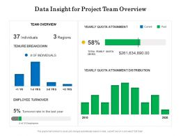 Data Insight For Project Team Overview