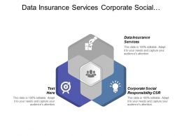 Data Insurance Services Corporate Social Responsibility Csr Merchandizing Cpb