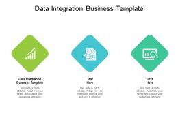 Data Integration Buisness Template Ppt Powerpoint Presentation Professional Cpb