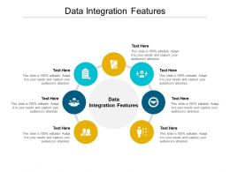 Data Integration Features Ppt Powerpoint Presentation Icon Graphic Tips Cpb