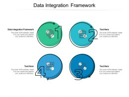 Data Integration Framework Ppt Powerpoint Presentation Infographics Display Cpb