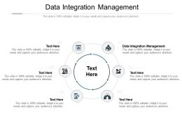 Data Integration Management Ppt Powerpoint Presentation File Slideshow Cpb
