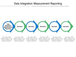 Data Integration Measurement Reporting Ppt Powerpoint Presentation Pictures Portfolio Cpb