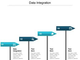 Data Integration Ppt Powerpoint Presentation Ideas Template Cpb