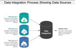Data Integration Process Showing Data Sources