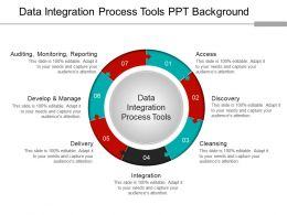 Data Integration Process Tools Ppt Background