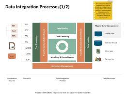 Data Integration Processes Matching Consolidation Ppt Presentation Microsoft