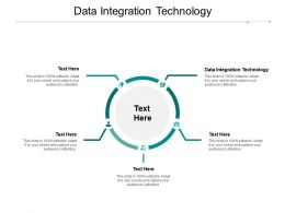 Data Integration Technology Ppt Powerpoint Presentation Pictures Graphic Images Cpb