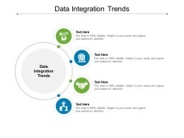 Data Integration Trends Ppt Powerpoint Presentation Portfolio Samples Cpb