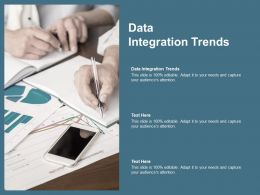 Data Integration Trends Ppt Powerpoint Presentation Summary Visuals Cpb