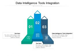 Data Intelligence Tools Integration Ppt Powerpoint Presentation File Graphic Images Cpb