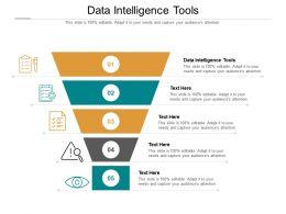 Data Intelligence Tools Ppt Powerpoint Presentation Icon Smartart Cpb