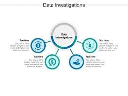 Data Investigations Ppt Powerpoint Presentation Summary Show Cpb