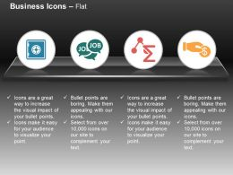 Data Job Buzz Search Techniques Financial Investment Ppt Icons Graphics
