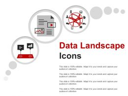 Data Landscape Icons