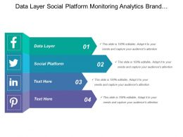Data Layer Social Platform Monitoring Analytics Brand Monitoring
