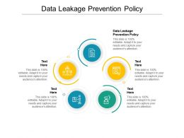 Data Leakage Prevention Policy Ppt Powerpoint Presentation Graphics Cpb