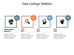 Data Leakage Statistics Ppt Powerpoint Presentation Inspiration Demonstration Cpb