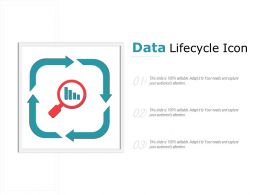 Data Lifecycle Icon
