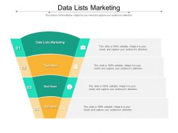 Data Lists Marketing Ppt Powerpoint Presentation Slides Smartart Cpb